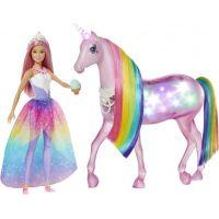 Mattel Barbie čarovný jednorožec a bábika 4