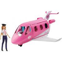 Mattel Barbie letadlo snů s pilotkou