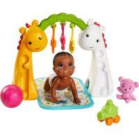 Mattel Barbie miminko herní set miminko s hrazdou