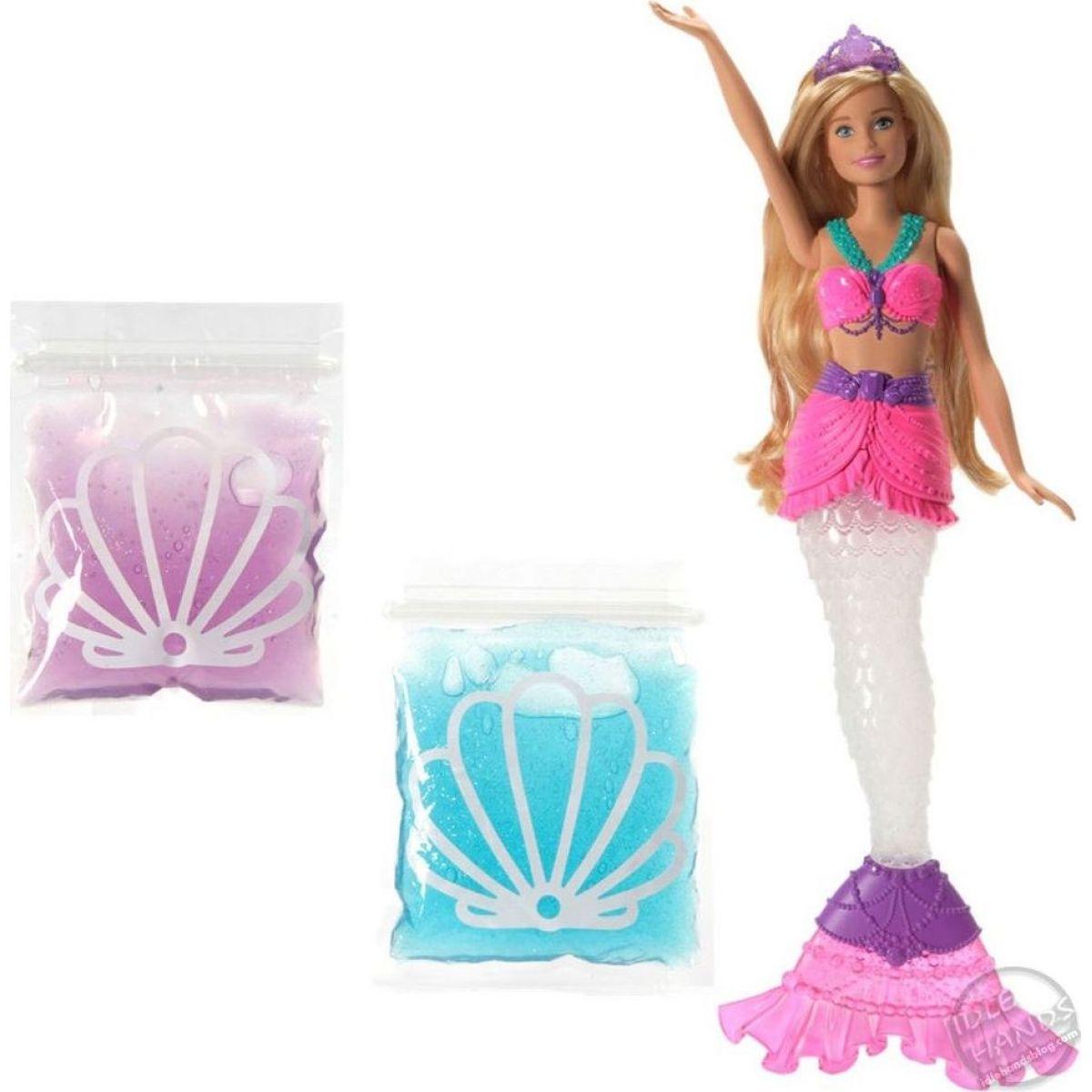 Mattel Barbie morská víla a trblietavý sliz