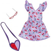 Mattel Barbie Oblečení s doplňky FXJ12
