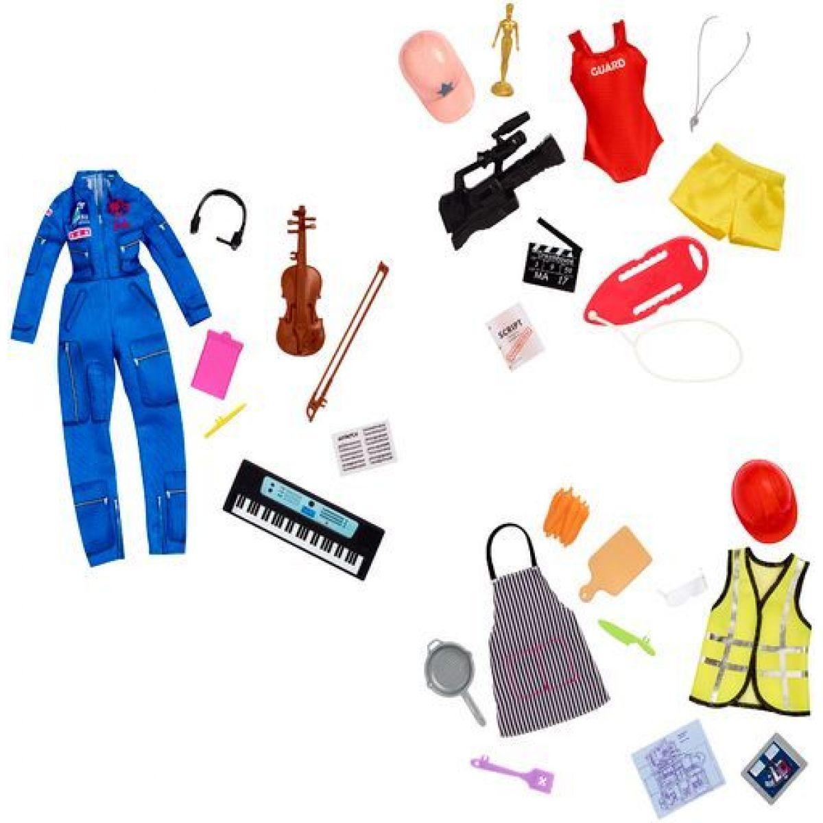 Mattel Barbie oblečky pre povolania s prekvapením