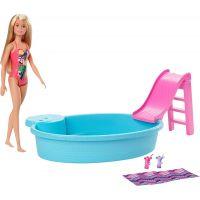 Mattel Barbie bábika a bazén