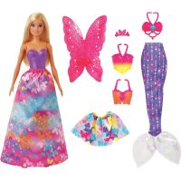 Mattel Barbie bábika a rozprávkové doplnky