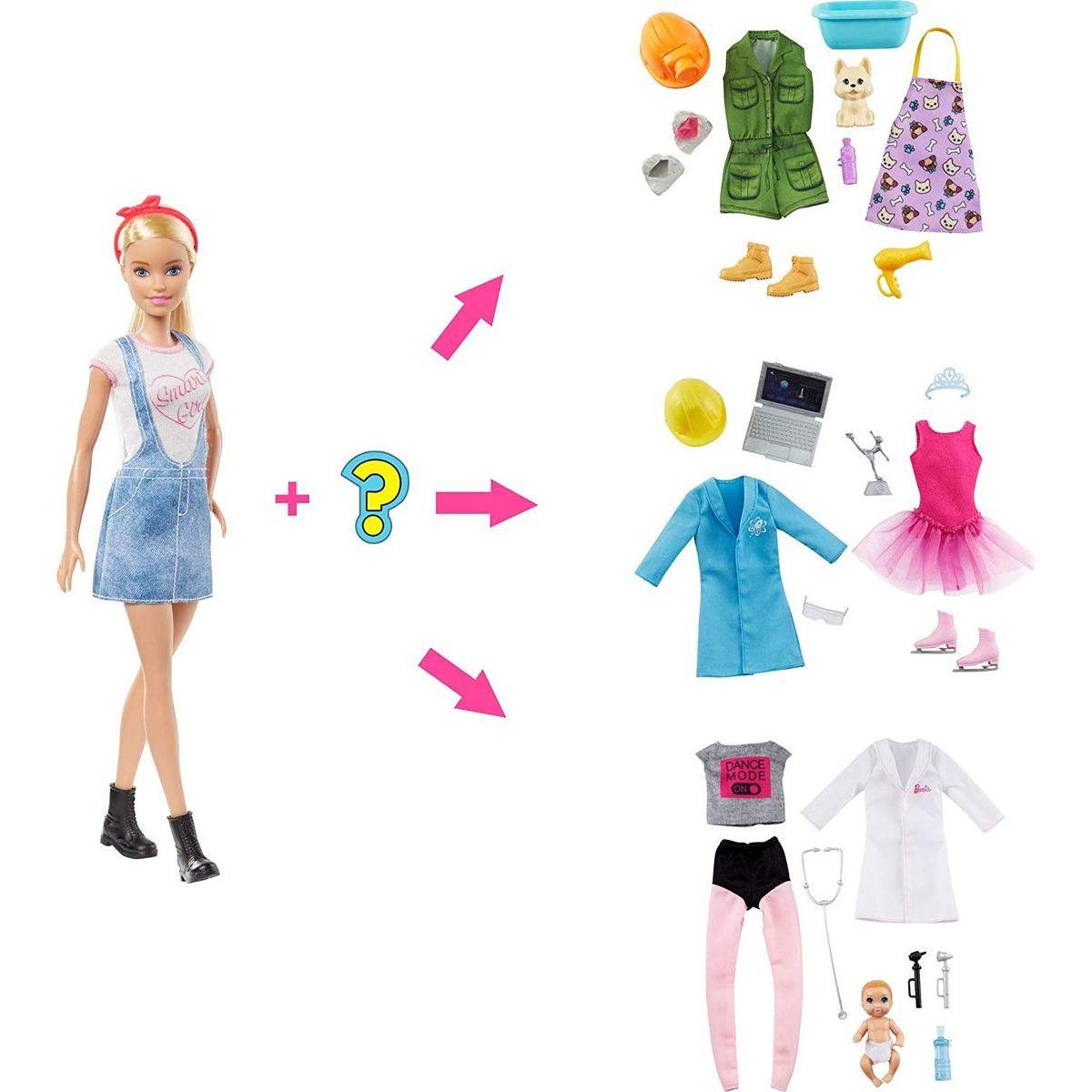 Mattel Barbie bábika a povolania s prekvapením