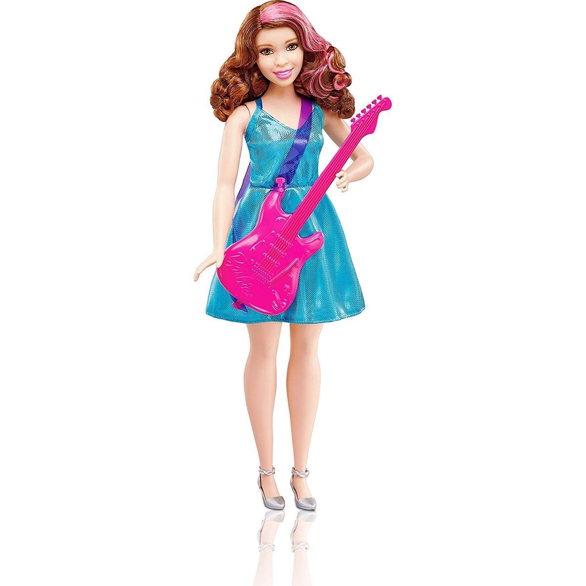 Mattel Barbie prvé povolanie Popová hviezda