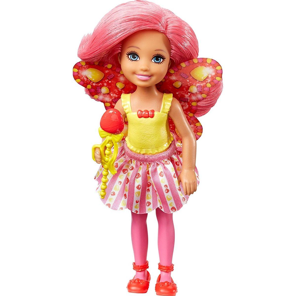 Mattel Barbie Víla Chelsea červené vlasy