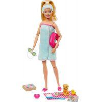 Mattel Barbie wellness panenka blond vlasy