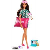 Mattel Barbie wellness panenka hnědé vlasy