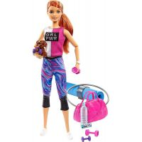 Mattel Barbie wellness panenka zrzavé vlasy