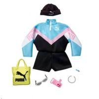 Mattel Barbie značkové oblečky a doplňky mikina PUMA