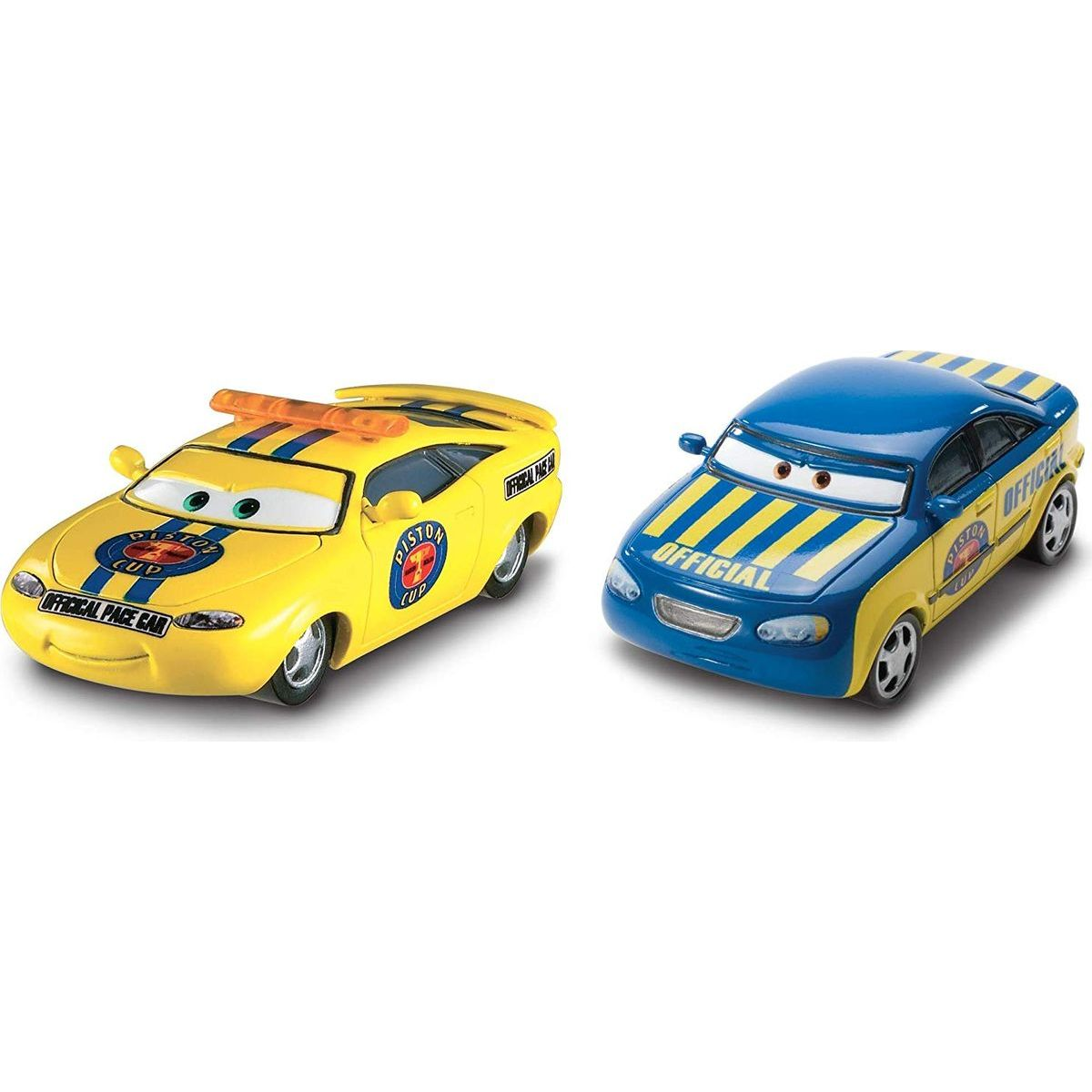 Mattel Cars 3 autá 2 ks Charlie Checker a Race Official Tom