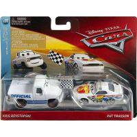 Mattel Cars 3 auta 2 ks Kris Revstopski a Pat Traxson 2