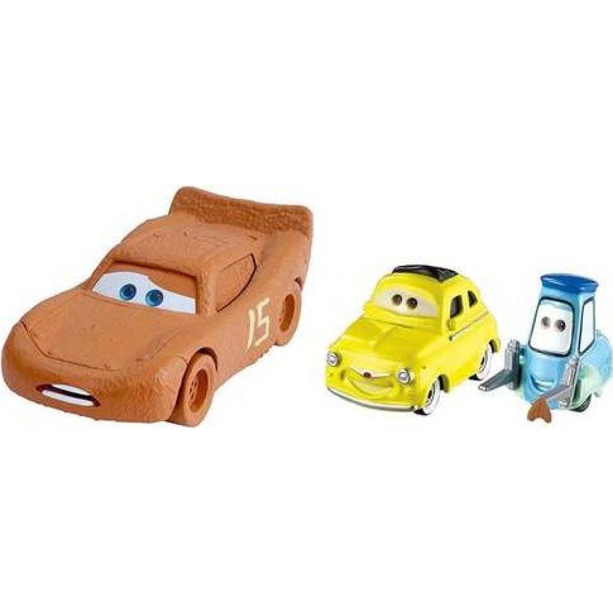 Mattel Cars 3 autá 2 ks Luigi a Quido