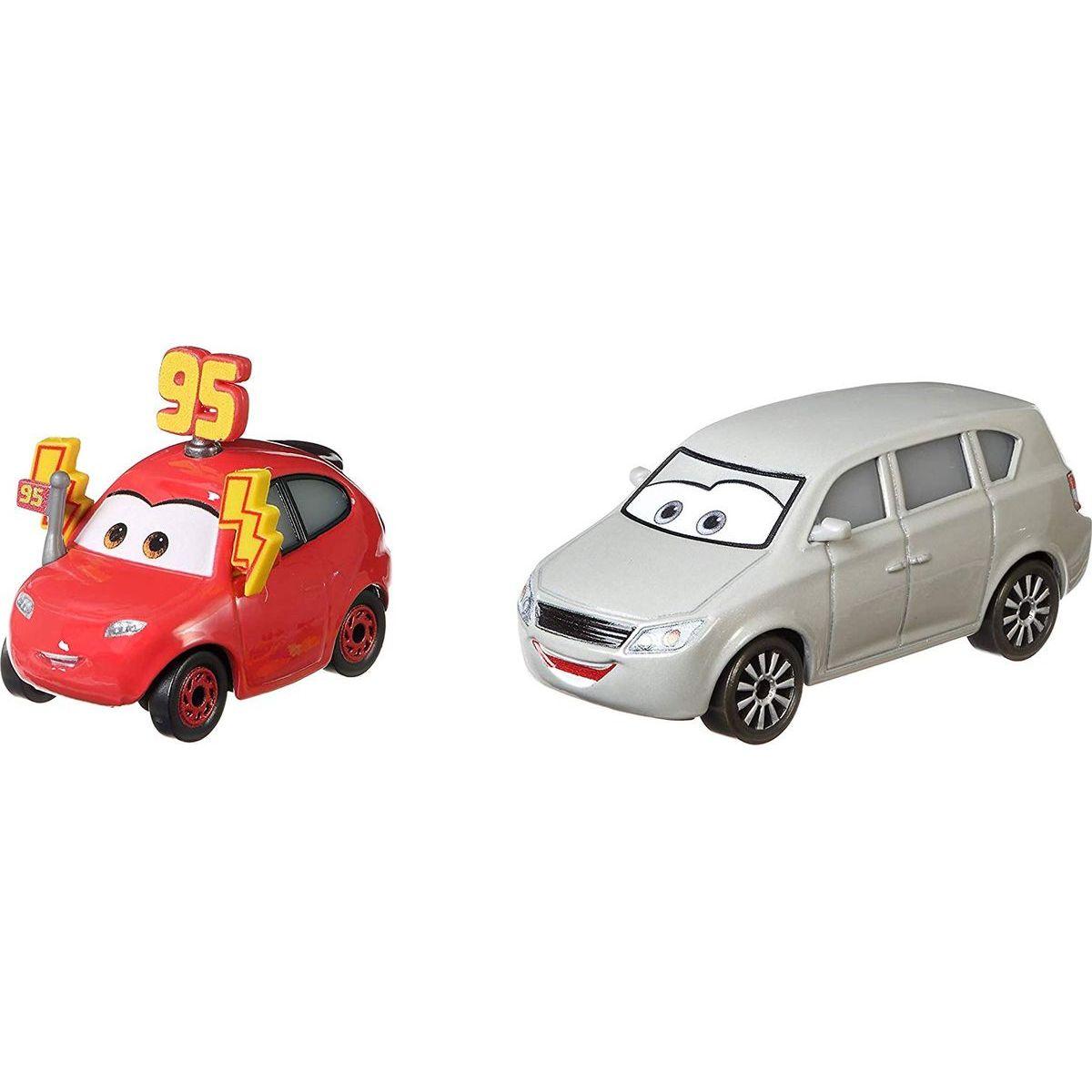 Mattel Cars 3 autá 2 ks Maddy McGear a Melissa Bernabrake