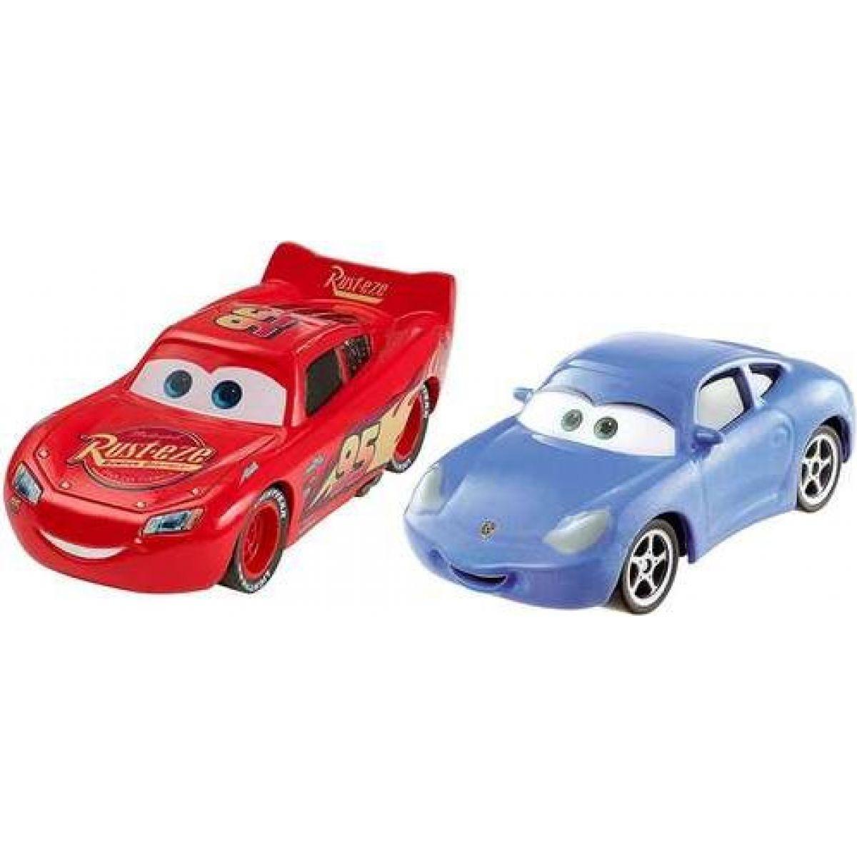 Mattel Cars 3 autá 2 ks McQueen