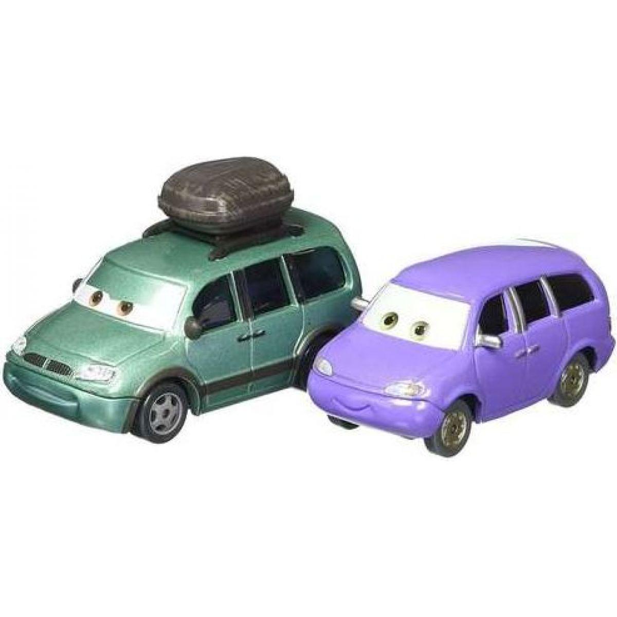 Mattel Cars 3 autá 2 ks Minn