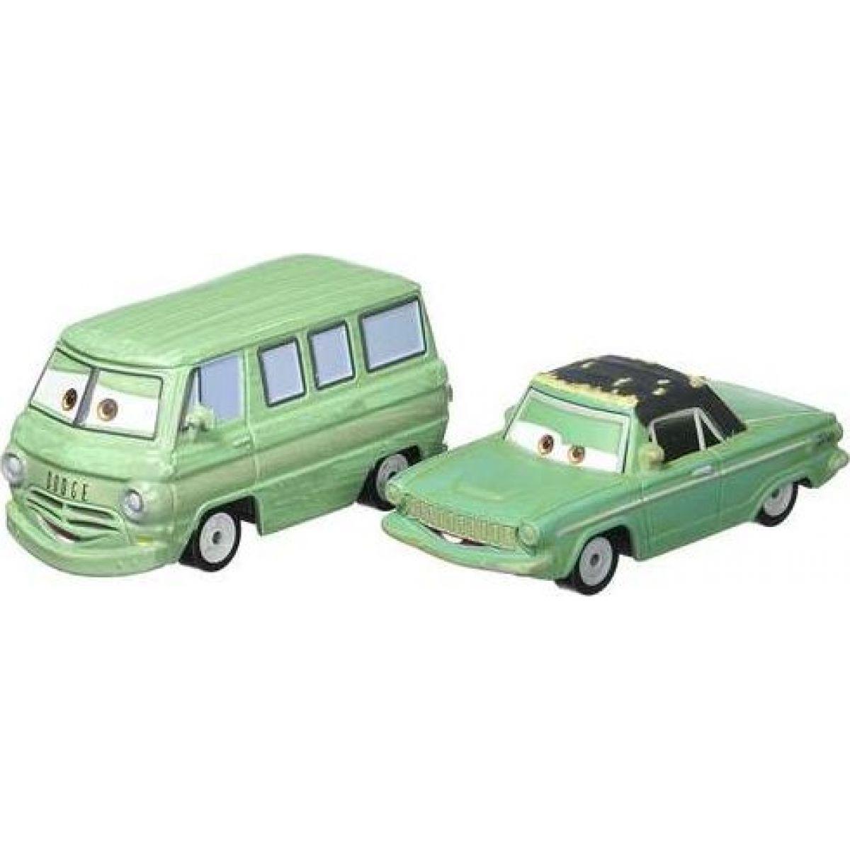 Mattel Cars 3 autá 2 ks Rusty Rust