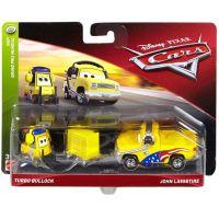 Mattel Cars 3 autá 2 ks Turbo Bullock a John Lassetire 2