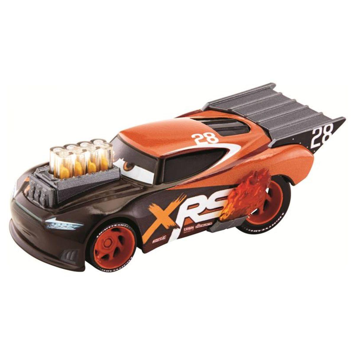 Mattel Cars XRS závodné dragster Nitroade