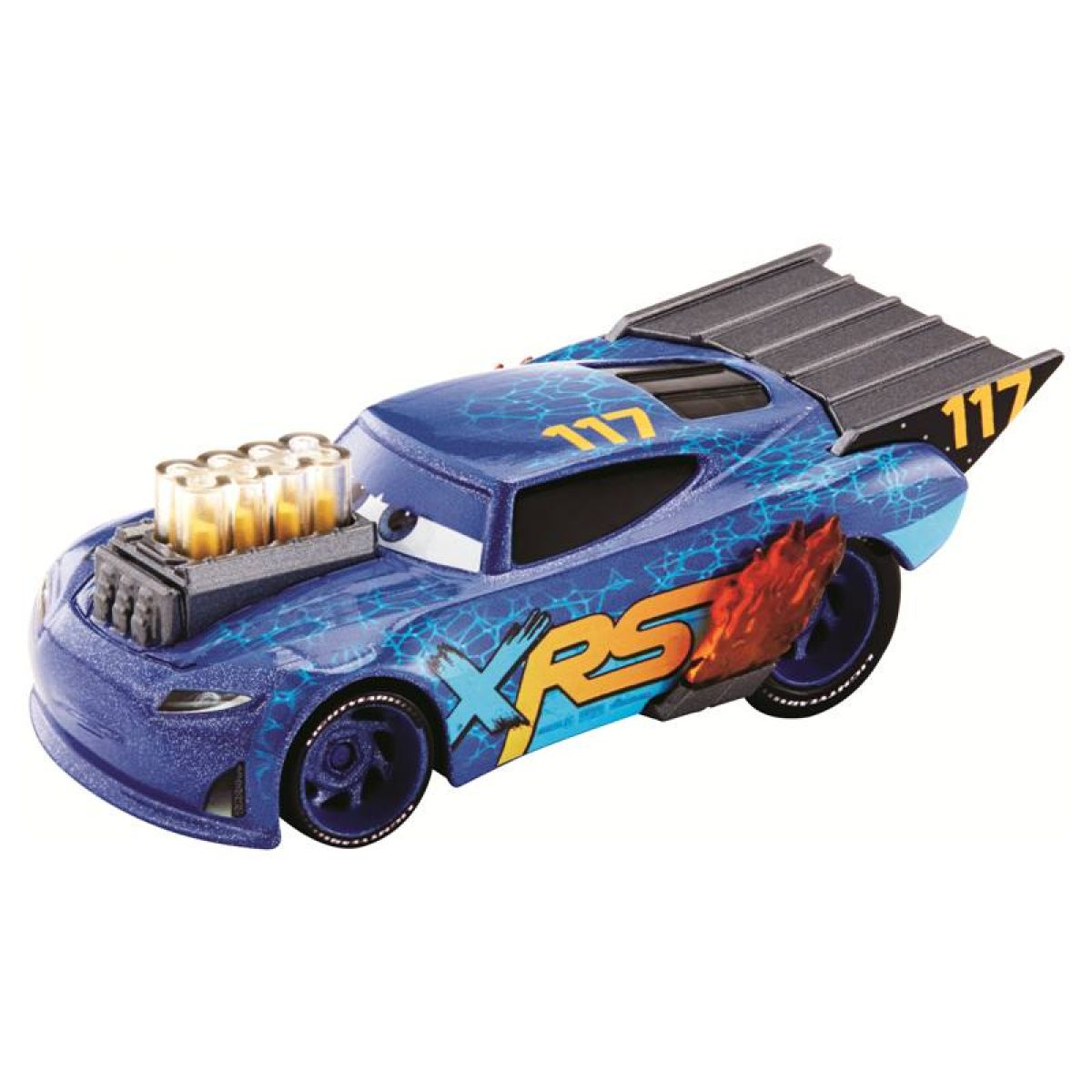 Mattel Cars XRS závodné dragster Lil Torqey