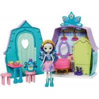 Mattel Enchantimals domácí mazlíčci Patter Peacock a Flap