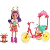 Mattel Enchantimals herný set na kolesách koloušek