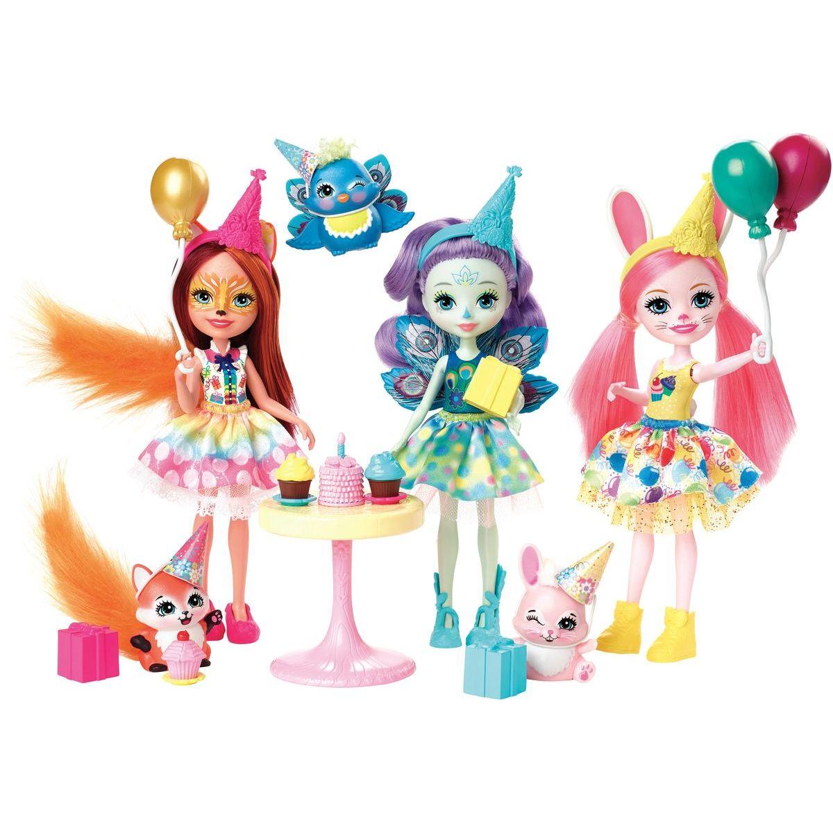 Mattel Enchantimals narodeninová oslava