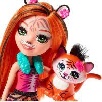 Mattel Enchantimals bábika a zvieratko Tanzie Tiger a Tuft 2