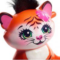 Mattel Enchantimals bábika a zvieratko Tanzie Tiger a Tuft 3