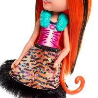 Mattel Enchantimals bábika a zvieratko Tanzie Tiger a Tuft 5