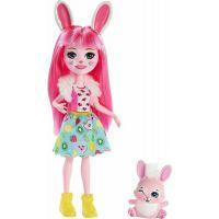 Mattel Enchantimals panenka se zvířátkem Bree Bunny a Twist
