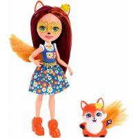 Mattel Enchantimals panenka se zvířátkem Felicity Fox a Flick