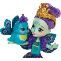 Mattel Enchantimals bábika Patter Peacock 2