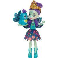 Mattel Enchantimals bábika Patter Peacock 4