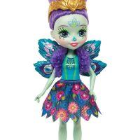 Mattel Enchantimals bábika Patter Peacock 5