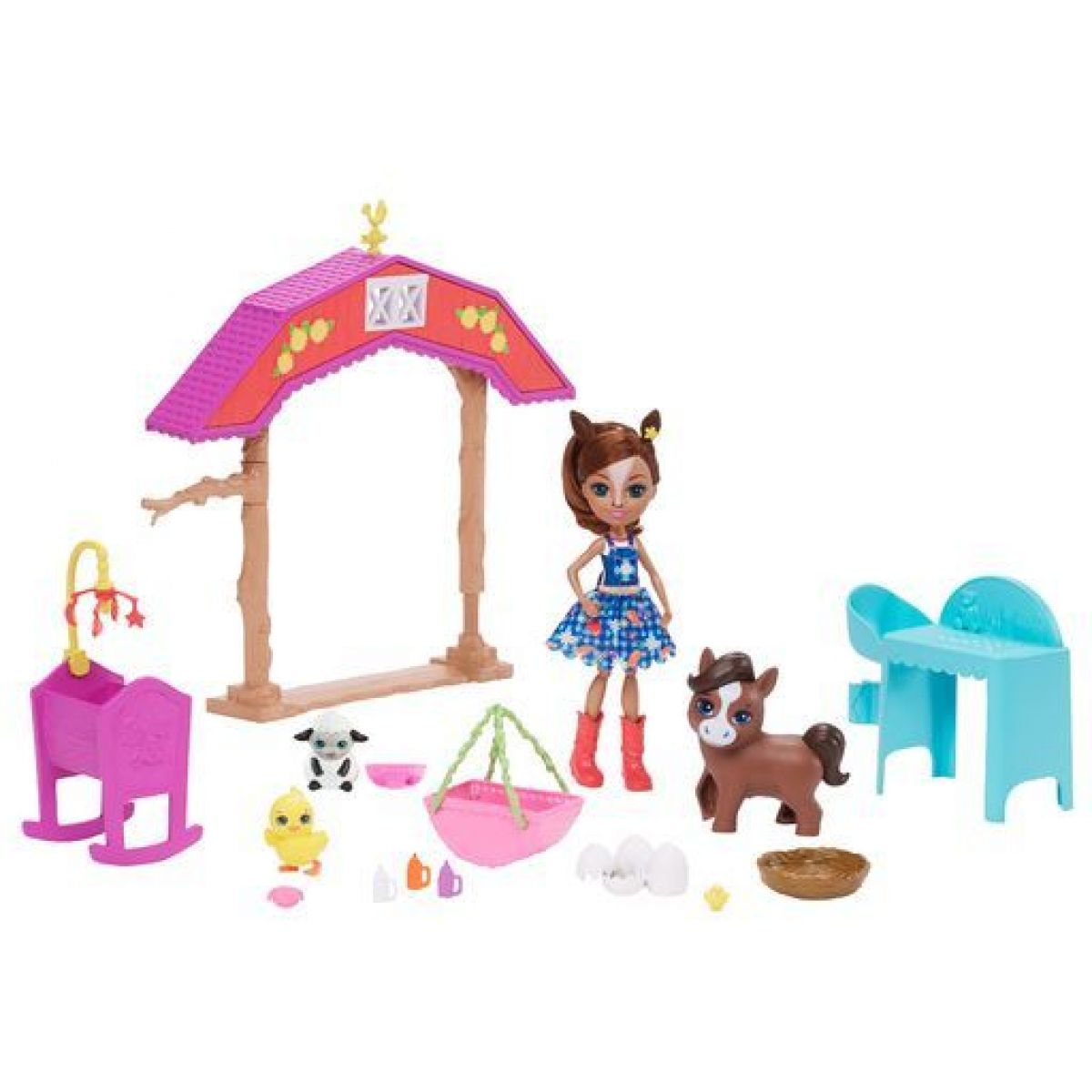 Mattel Enchantimals škôlka na farme