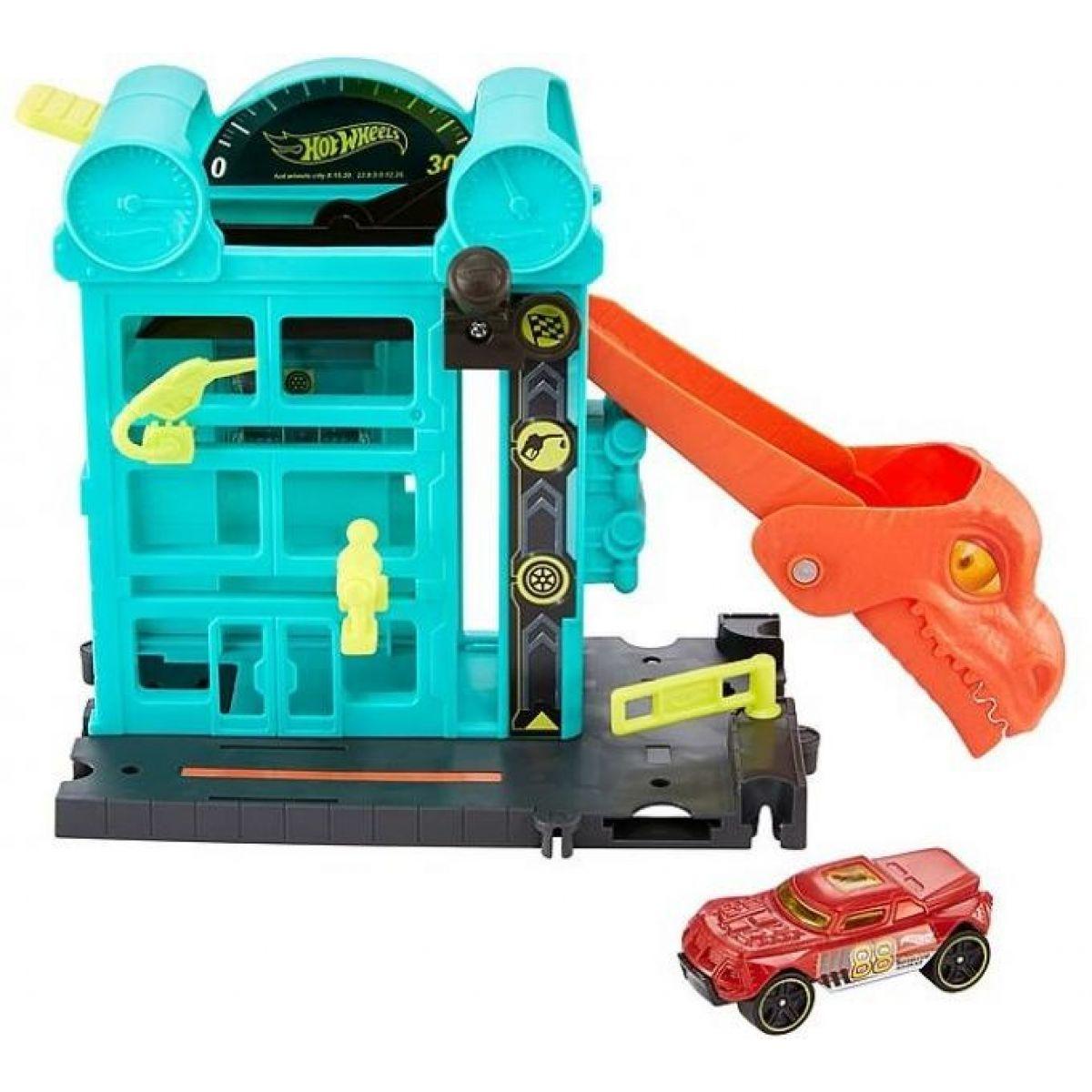 Mattel Hot Wheels City Postav mesto Únik z garáže