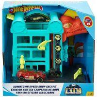 Mattel Hot Wheels City Postav mesto Únik z garáže 2