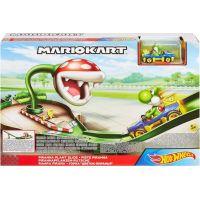 Mattel Hot Wheels Mario Kart závodní dráha odplata GFY47 Piranha Plant Slide