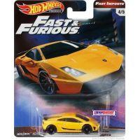 Mattel Hot Wheels prémiové auto – Rychle a zběsile Lamborghini Gallardo LP 570-4 Superleggera