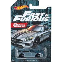 Mattel Hot Wheels tematické auto – klasická kolekce 15 Mercedes - AMG GT