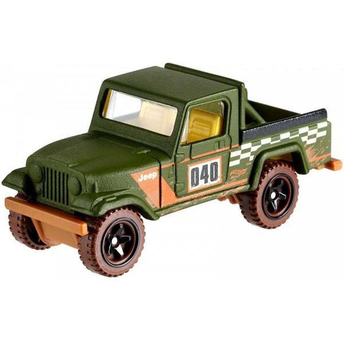 Mattel Hot Wheels tematické auto - klasická kolekcia Jeep Scrambler