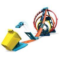 Mattel Hot Wheels track builder trojitá slučka 2