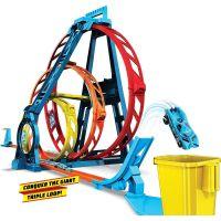 Mattel Hot Wheels track builder trojitá slučka 3
