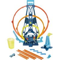 Mattel Hot Wheels track builder trojitá slučka 5
