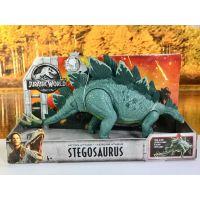 Mattel Jurský svět super úder Stegosaurus FMW88 - poškodený obal 4