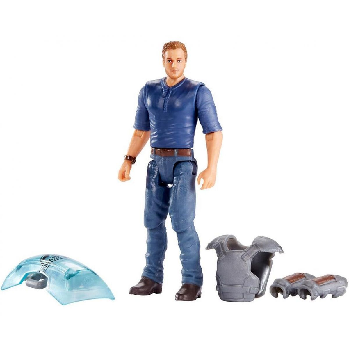 Mattel Jurský svět Základní Dinosaur Trainer Owen