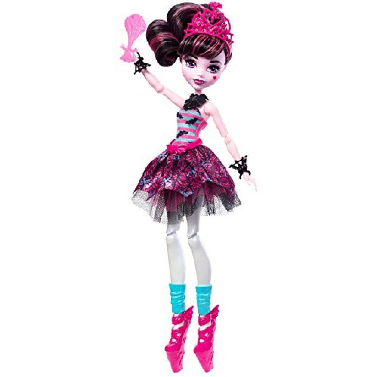Mattel Monster High Ballerina ghúlky Draculaura