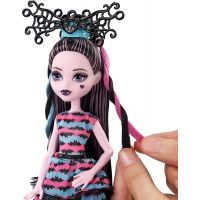 Mattel Monster High Draculaura párty účes 6